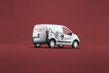 Fahrzeugbeschriftung Corporate Identity Branding Logo Kommunikationsagentur Zürich
