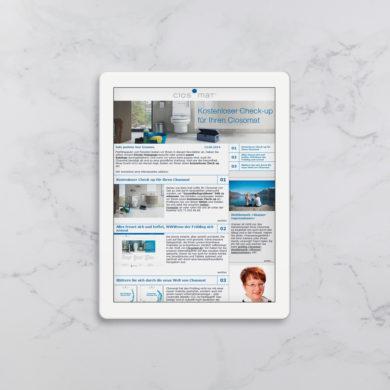 Newsletter E-Mail-Marketing Werbung Online Kommunikationsagentur Zürich