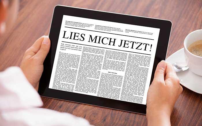 Headlines richtig gemacht Profi Kontakt Werbung Kommunikation Kunden Full Service Konzept Strategie Content