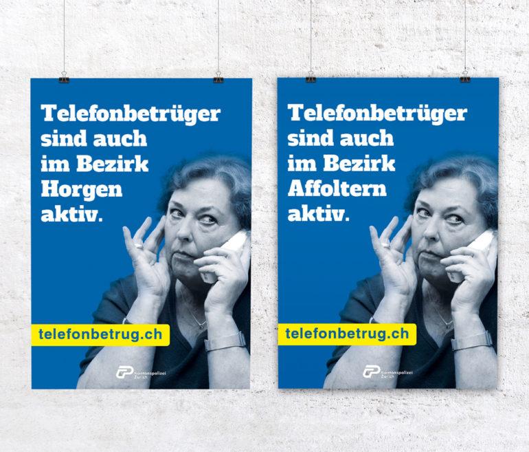 Klassische Werbung Kampagne Plakate Prävention Print Kommunikation Prävention Polizei