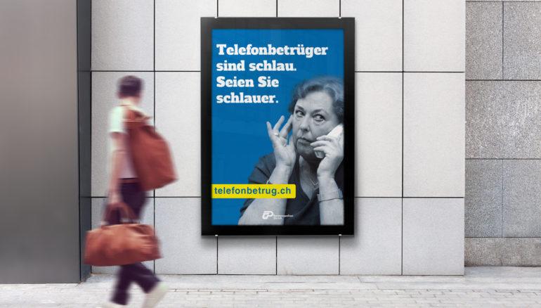 Full Service Agentur Zürich Plakatae Prävention Klassische Kampagne