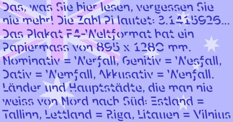 Typografie Layout Design Werbung Kommunikation Agentur Schweiz