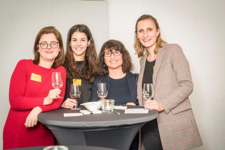 Claudia Vydrzel und Valentina Corti (Therefore), Nancy Glisoni (Familienzeit), Alexandra Bertram (Therefore)