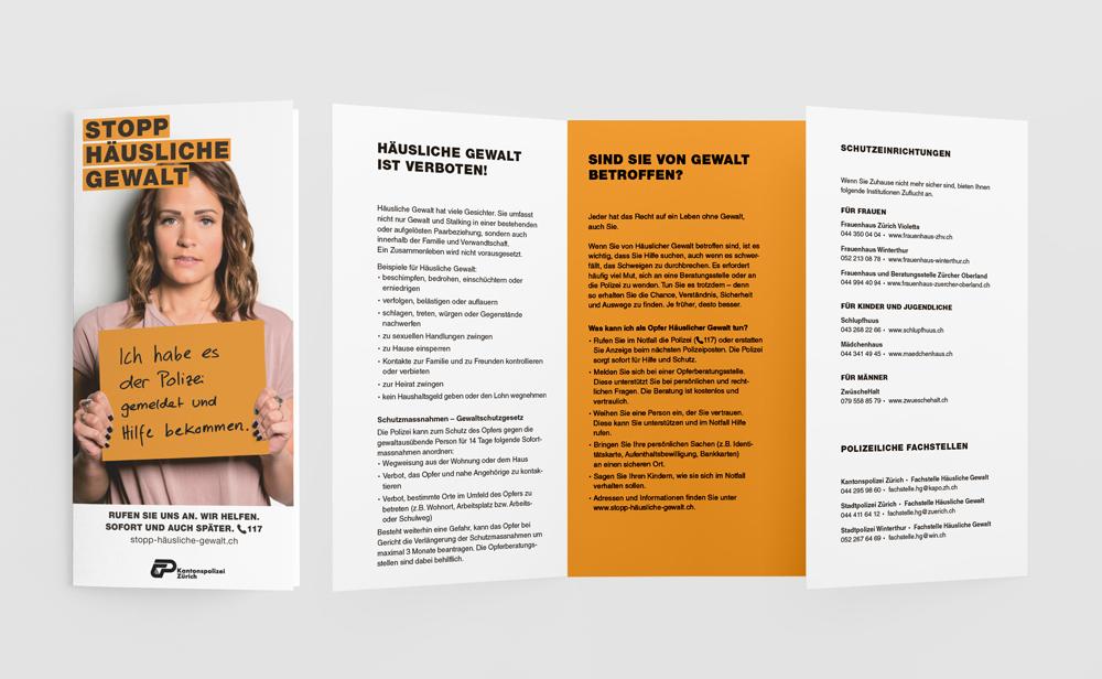 Plakat Kampagne Headline Logo Branding Slogan Auftrag Werbung mit Wirkung Kommunikationsagentur