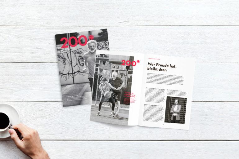 Kundenmagazin Corporate Publishing Print Gesundheit Kommunikationsagentur Zürich Full Service