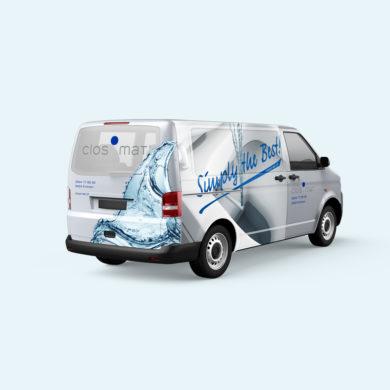 Fahrzeugbeschriftung Branding Corporate Identity Full Service Agentur Zürich