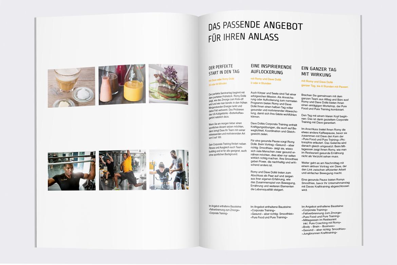 Corporate Communication Verkaufsunterlagen Kommunikationsagentur Zürich Kompetenzen