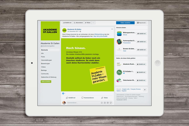 Social Media Digitiale Kommunikation Full Service Agentur Zürich Kompetenzen Angebot