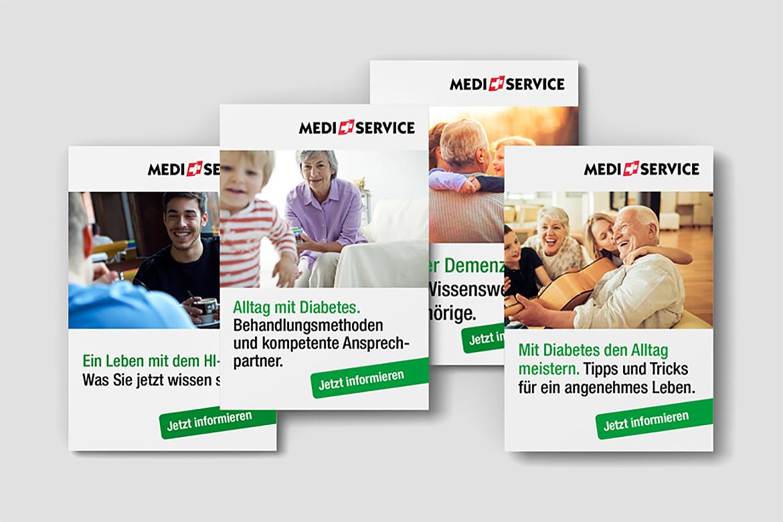 Online Werbung Banner Digitiale Kommunikation Full Service Agentur Zürich Kompetenzen Angebot