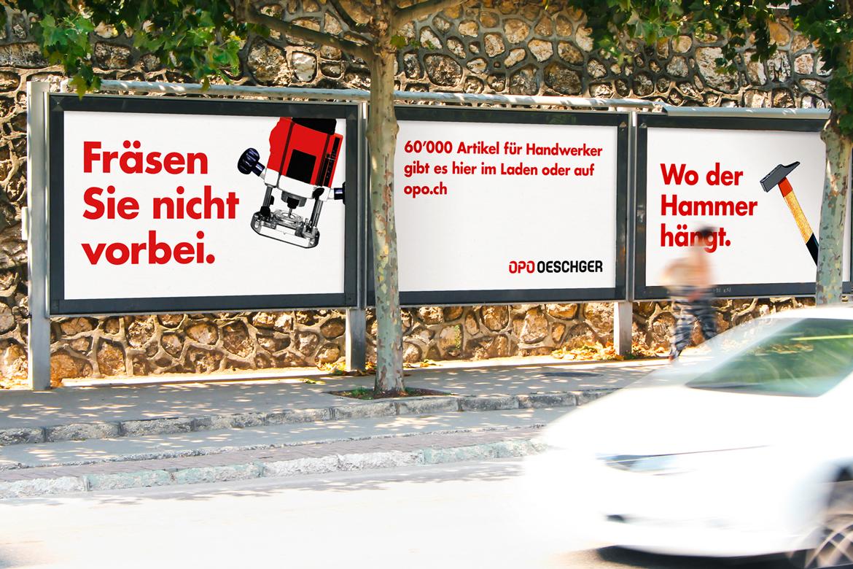 Kampagnen Klassische Werbung Kommunikation Full Service Agentur Zürich Kompetenzen Angebot