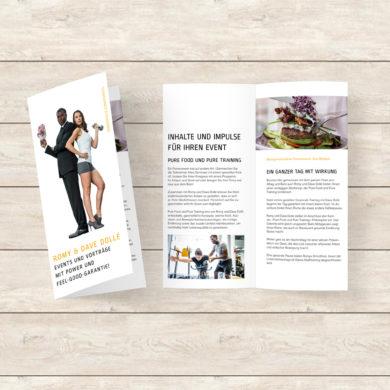 Salesfolder Broschüre Print Corporate Publishing Kommunikation Konzeption Klassische Werbung