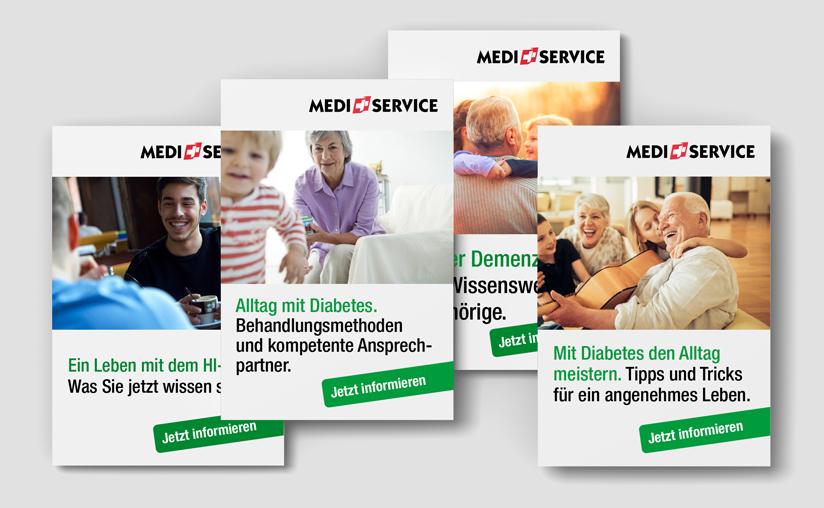 Inserate Klassische Werbung Online Banner Full Service Agentur Zürich