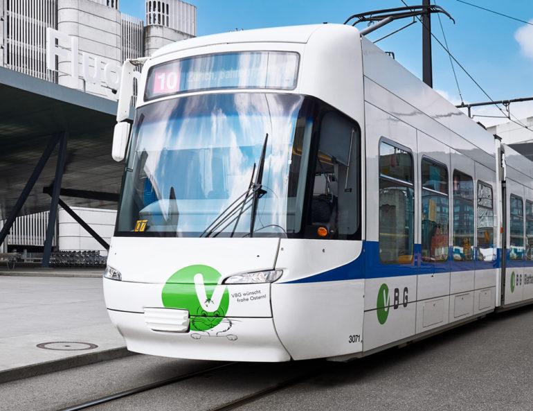 Fahrzeugbeschriftung Branding Promotion Konzeption Kommunikationsagentur Zürich